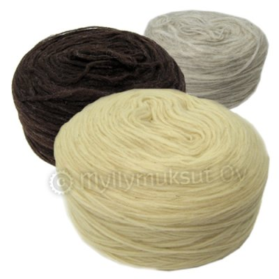 Yarn, natural colours