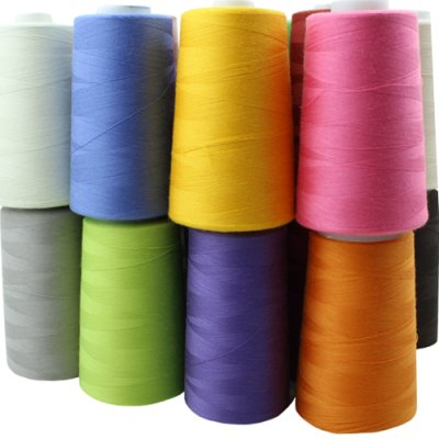 Thread for overlocking machines, 4 pcs