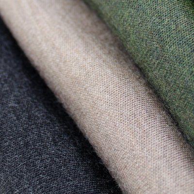 Merino wool interlock