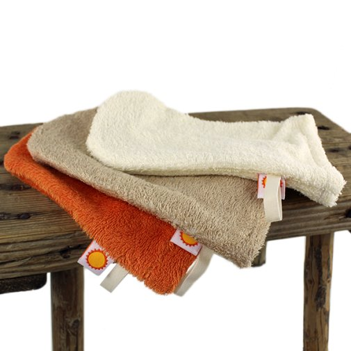 Washing mitten, bamboo - order gift for orders over 60 €