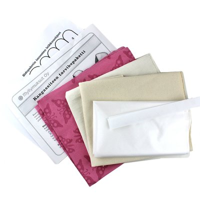 Do-it-yourself sewing kit, menstrual pads