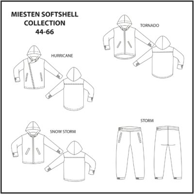 Pattern: Men's Softshell collection